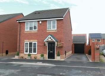 Thumbnail 4 bed detached house for sale in Greenock Close, Newcastle-Under-Lyme