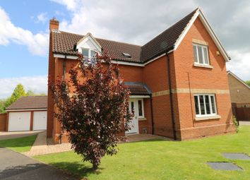 Thumbnail 4 bed detached house for sale in Grove Close, Highfields Caldecote, Cambridge