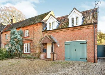 Thumbnail 3 bedroom semi-detached house for sale in High Street, Tittleshall, King's Lynn
