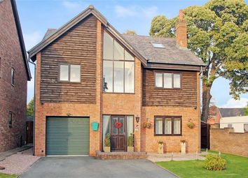 Thumbnail 6 bed detached house for sale in Oswalds Close, Oswestry
