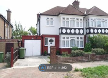 Thumbnail 3 bed semi-detached house to rent in Rydal Gardens, Wembley