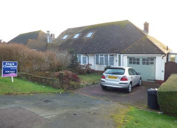 Thumbnail 2 bed bungalow for sale in Rodmell Avenue, Saltdean, Brighton, East Sussex
