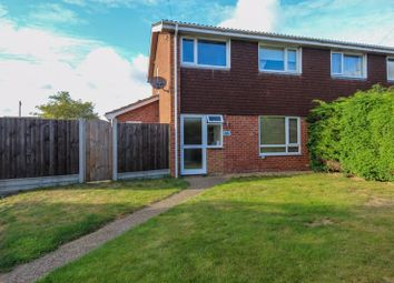 Thumbnail 3 bed semi-detached house for sale in The Shrublands, Horsford, Norwich