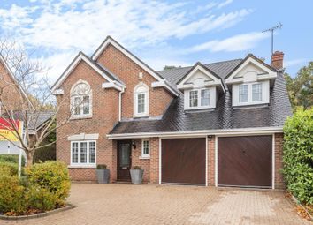 Thumbnail 5 bed detached house for sale in Camberley, Surrey