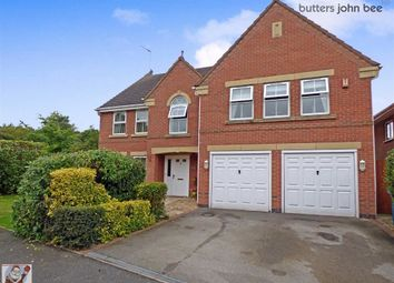 Thumbnail 5 bed detached house for sale in Spode Close, Stone, Staffordshire