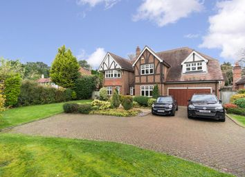 Thumbnail 5 bed detached house to rent in Hill Close, Cobham