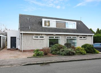 Thumbnail 4 bed semi-detached bungalow for sale in North Gyle Loan, Corstorphine, Edinburgh
