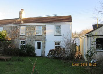Thumbnail 3 bed end terrace house to rent in Park Hill, Fore Street, Goldsithney, Penzance