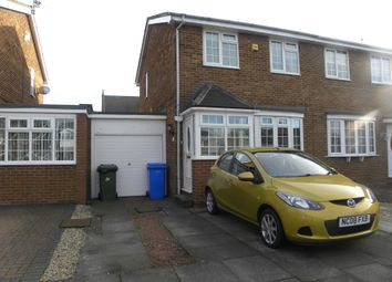 Thumbnail 3 bed semi-detached house for sale in Alston Road, New Hartley, Tyne & Wear