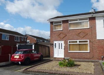 Thumbnail 3 bed semi-detached house for sale in Ascot Close, Woolston, Warrington, Cheshire