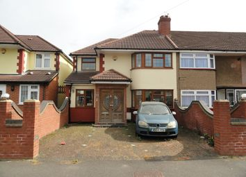Thumbnail 4 bed end terrace house for sale in Merton Avenue, Northolt