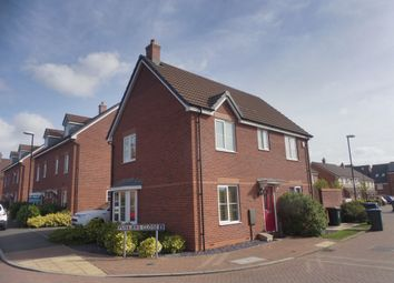 Thumbnail 3 bedroom detached house for sale in Fusiliers Close, New Stoke Village, Coventry