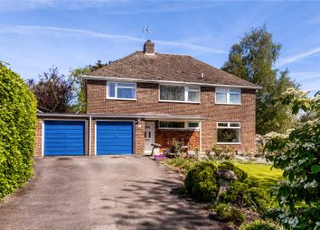 Thumbnail 4 bed detached house for sale in St. Annes Close, Goodworth Clatford, Hampshire