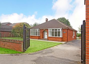 Thumbnail 3 bed detached bungalow for sale in Hatfield Woodhouse, Doncaster, 6Pj.
