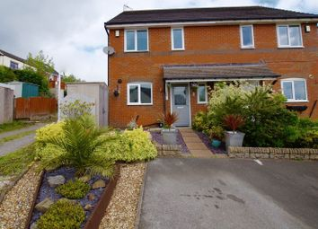 Thumbnail 3 bed semi-detached house for sale in Vron Close, Brymbo, Wrexham