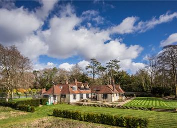 Thumbnail 5 bed detached house for sale in Stockbridge, Hampshire