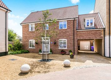 Thumbnail 4 bed link-detached house for sale in Griffiths Close, Ipswich