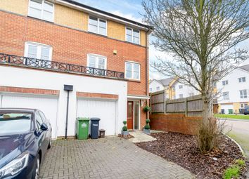 Thumbnail 4 bed terraced house for sale in Plomer Avenue, Hoddesdon, Hertfordshire