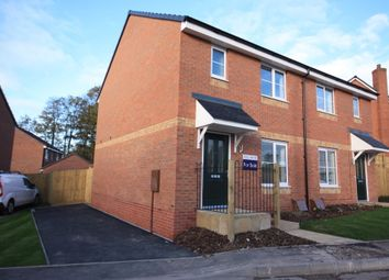 Thumbnail 3 bed semi-detached house for sale in Bambury Grove, Talke, Stoke-On-Trent