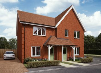 Thumbnail 3 bed semi-detached house for sale in Newlynne Close, Swindon