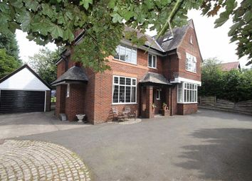 Thumbnail 5 bedroom detached house for sale in Leigh Road, Worsley, Manchester