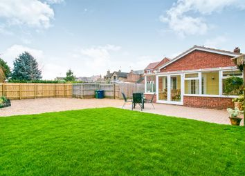 Thumbnail 4 bed detached bungalow for sale in Station Road, Manea, March