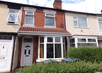 Thumbnail 2 bed property to rent in Edward Road, Bearwood, Smethwick