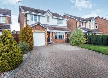 Thumbnail 4 bed detached house for sale in Eade Close, Newton Aycliffe