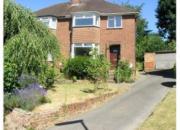 Thumbnail 3 bed detached house to rent in Elm Close, Woking, Woking