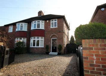 Thumbnail 3 bedroom semi-detached house for sale in Hamilton Drive West, York
