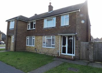 Thumbnail 3 bed semi-detached house for sale in Black Prince Close, Byfleet, West Byfleet