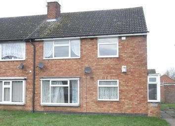 Thumbnail 2 bed maisonette to rent in Yarningale Road, Willenhall