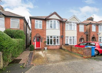 3 bed semi-detached house for sale in Gordon Road, Ipswich IP4