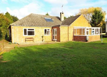 Thumbnail 4 bed detached bungalow for sale in Lynn Road, Swaffham