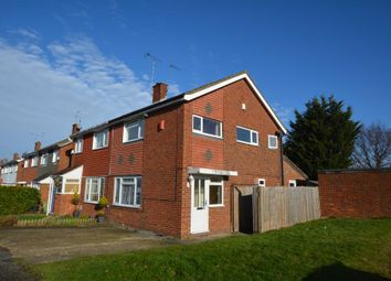 Thumbnail 3 bed semi-detached house to rent in Cheneys Walk, Bletchley, Milton Keynes