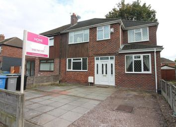 Thumbnail 4 bed semi-detached house for sale in Lock Lane, Partington, Manchester