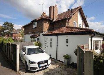 Thumbnail 2 bed semi-detached house for sale in Red Lion Lane, Little Sutton, Cheshire
