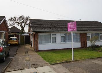 Thumbnail 2 bedroom semi-detached bungalow to rent in Dering Crescent, Eastwood, Leigh-On-Sea