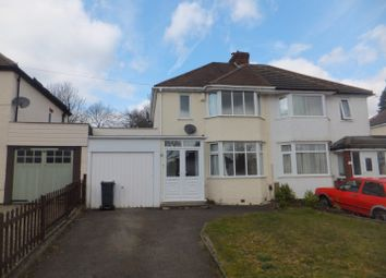 Thumbnail 3 bed semi-detached house for sale in Longmoor Road, Sutton Coldfield
