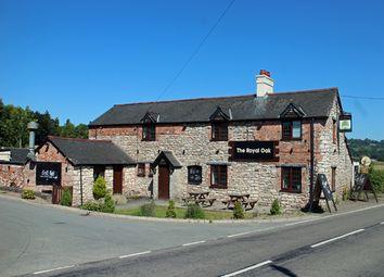 Thumbnail Pub/bar for sale in Treflach, Oswestry