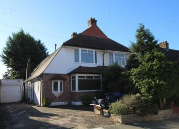 Thumbnail 3 bed bungalow to rent in Chase Way, Southgate, London
