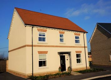 Thumbnail 4 bed detached house for sale in Lockyers Field, North Curry, Taunton