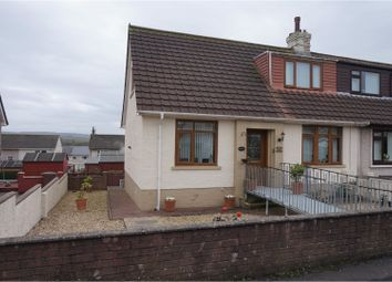 Thumbnail 3 bed semi-detached house for sale in Glencraig Street, Ayr