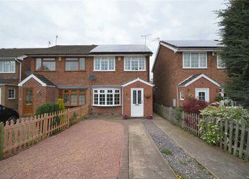 Thumbnail 3 bed semi-detached house for sale in Templeman Close, Ruddington, Nottingham