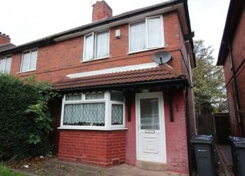 Thumbnail 3 bed terraced house to rent in Monsal Road, Great Barr, Birmingham