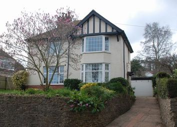 Thumbnail 4 bedroom detached house for sale in Woolbrook Road, Sidmouth