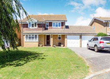 Thumbnail 4 bedroom detached house for sale in Darwall Drive, Seaford
