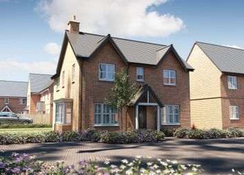 "Thumbnail 4 bed detached house for sale in ""The Caulke"" at Stocks Lane, Winslow, Buckingham"