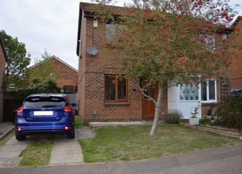 Thumbnail 2 bed semi-detached house to rent in Yeoman Meadow, East Hunsbury, Northampton