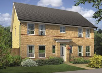"Thumbnail 4 bedroom detached house for sale in ""Oakhampton"" at Lanelay Road, Talbot Green, Pontyclun"